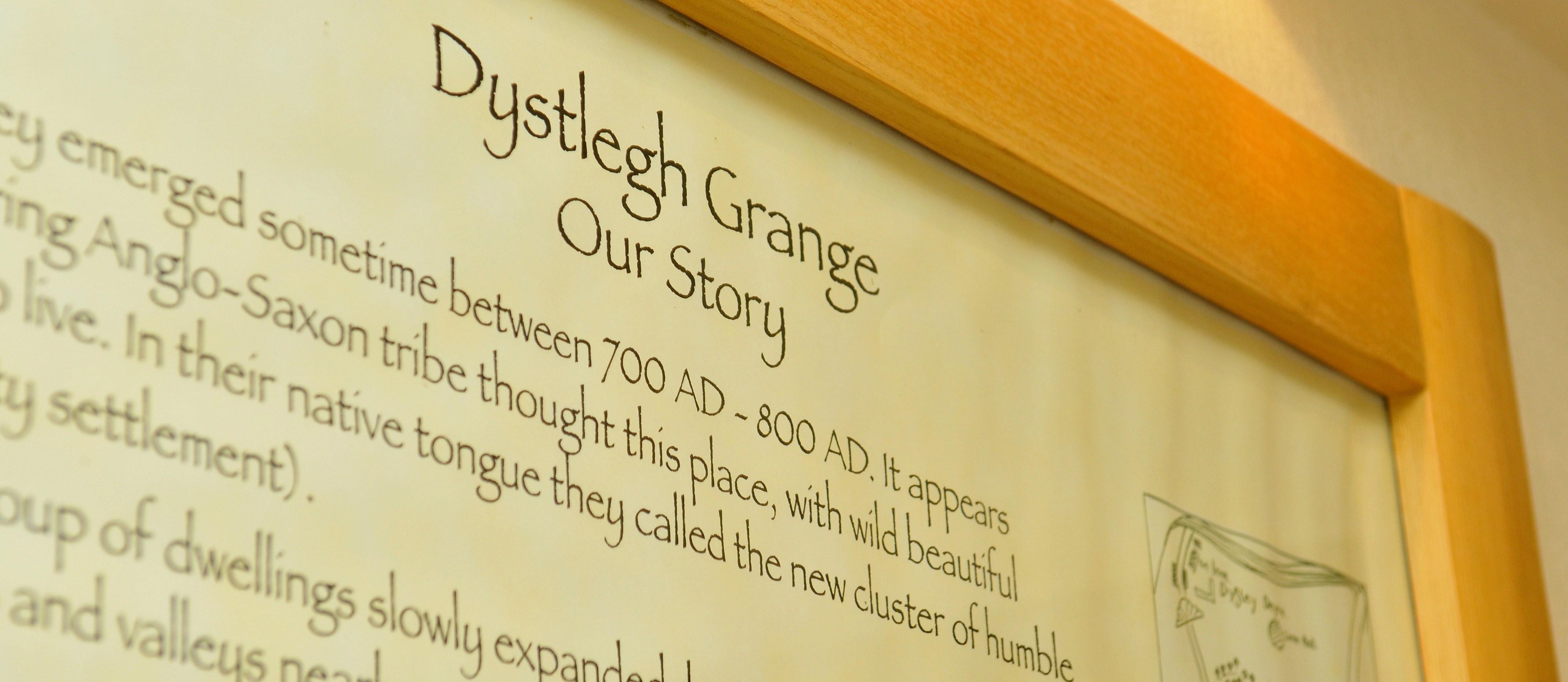 A History of Dystlegh Grange